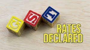 GST Rates Declared